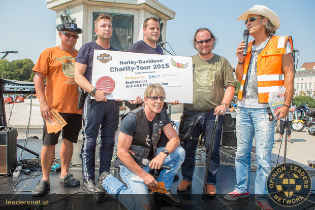 20. Harley-Davidson Charity-Tour - Fotos C.Mikes