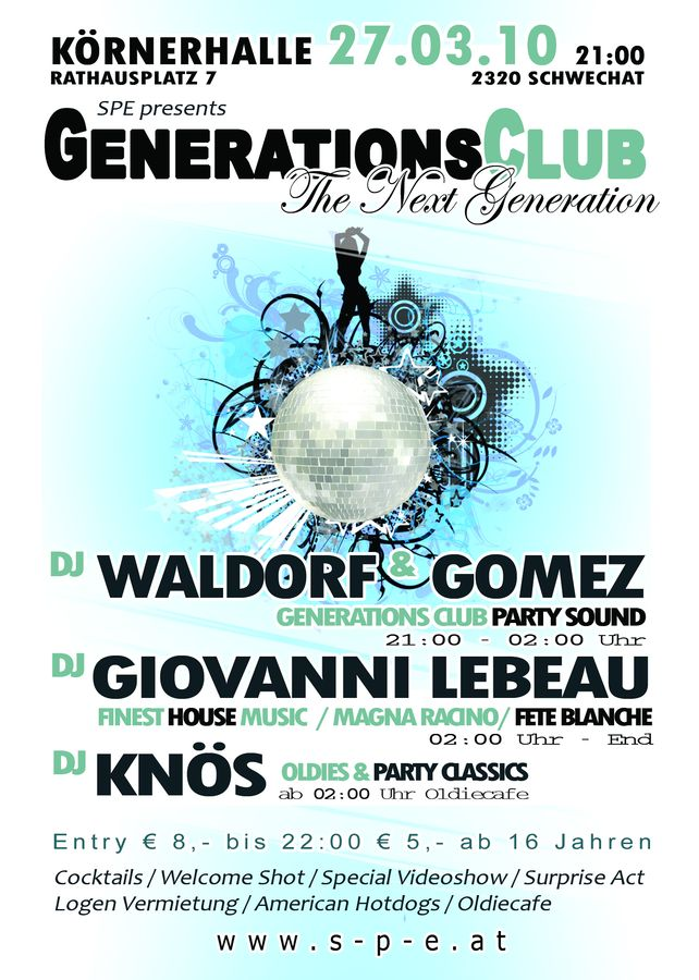 Generations Club - the next Generation