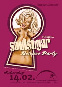 SoulSugar CD&2LP Vol. 4 release bash 