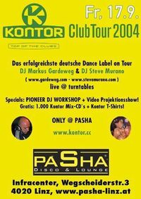 Kontor Club Tour 2004