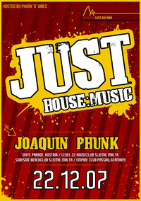 Just House:Music - Joaquin Phunk