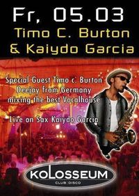 Timo C. Burton &amp; Kaiydo Garcia