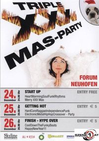 Triple xxx Mas Party@Forum