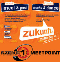 Zukunft.at mit Szene1 Meetpoint