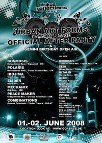 Drops Reflections presents: Urban Art Forms Samsara Stage Official After Party 