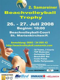 2. Samareiner Beachvolleyball Trophy