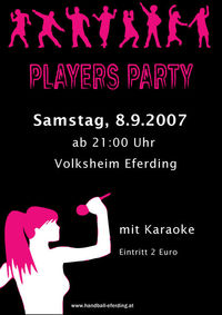 Players Party@Volksheim Eferding