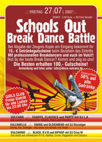 Schools Out Break Dance Battle
