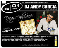 DJ Andy Garcia live on turns
