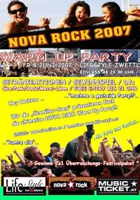 Nova Rock-Warm Up Party@Lifestyle Club