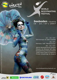 World Bodypainting Festival 2007