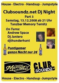 Clubsoundz.net Dj Night Part 3