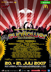 Big Sunflower Festival - 3 Years