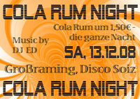 Cola Rum Night