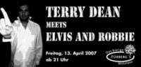 Terry Dean meets Elvis & Robbie