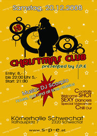 Christmas Club - presented by S.P.E