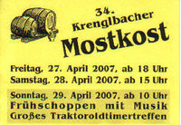 34. Krenglbacher Mostkost