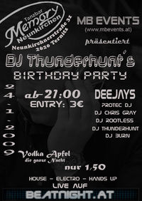 djthunderhunts Birthday