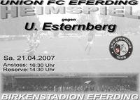 UFC Eferding - U. Esternberg@Birkenstadion