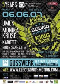 SoundForce - The Kingsize *5 Years E-M*