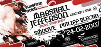 SunshineClub: Marshall Jefferson