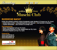 The Golden Classy Muschiclub - Russische Nacht