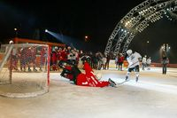 Dancing Stars live bei der Eishockey-Charity - After Eis Party