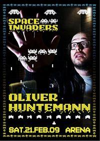 SPACE INVADERS mit Oliver Huntemann