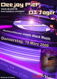 Techno/House meets Blackmusic@Live Stage