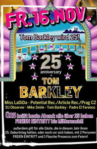 25 anniversary of Tom Barkley