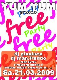 Free Party  Mikey´s B-Day