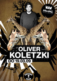 Club MNML mit Oliver Koletzki & Stil vor Talent Fashionshow