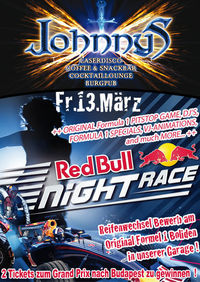 Red Bull Race Night
