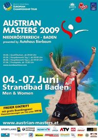 Beachvolleyball Austrian Masters