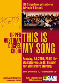 "Gospelkonzert ""This is my song"""