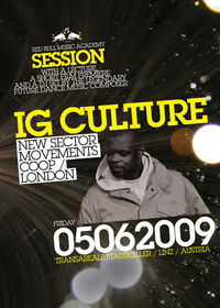 Red Bull Music Academy Session with IG Culture (New Sector Movements / COOP / London)