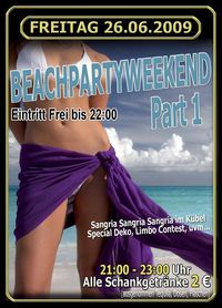 Beachpartyweekend Part 1