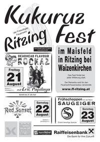 Kukuruzfest Ritzing@FF Ritzing