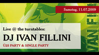 Live @ the turntables: Dj Ivan Fillini