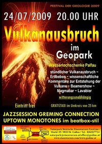Vulkanausbruchfest