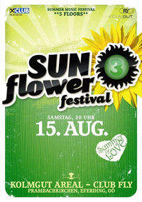 Sunflower festival - summer of love