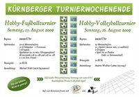 Hobby-Beachvolleyball-Turnier Kürnberg