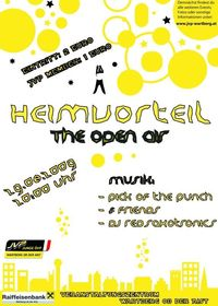 Heimvorteil - The Open Air