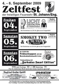 Zeltfest/Countryabend der FF St.Johann/Eng.