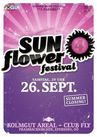 Sunflower festival - summer closing