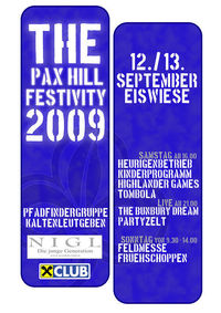 The Pax Hill Festivity 2009