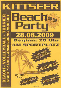 Beachparty Kittsee