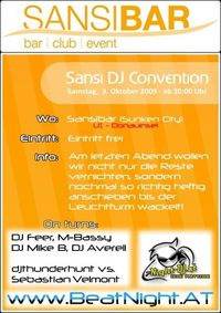 Dj Convention @Sansibar