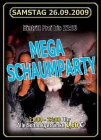 Mega Schaumparty