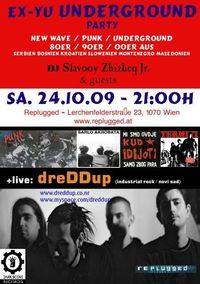 Ex-Yu Underground Party + live: dreDDup (Novi Sad)